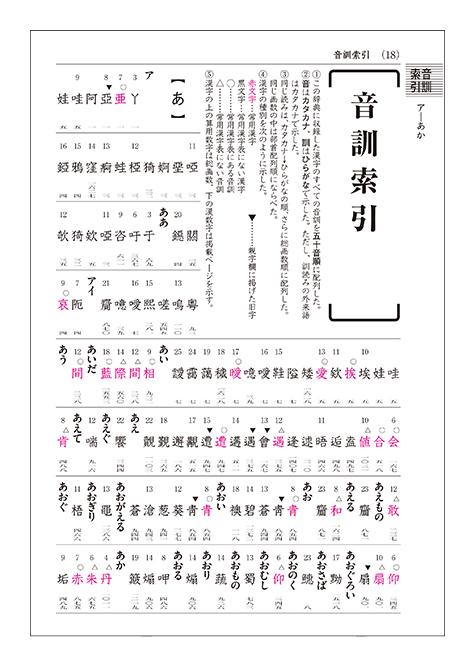 漢字 辞典 索引